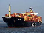 MSC LEVINA - IMO 8608200 - Callsign 3FJR8, Berendrechtsluis, Port of Antwerp pic1.JPG