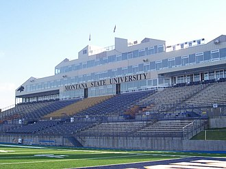 Bobcat Stadium (Montana State University) - With new FieldTurf in 2008