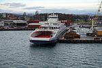 MV Bastø VI in Horten, Norway.jpg
