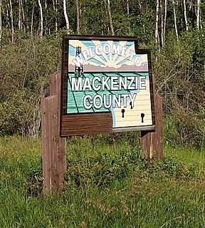 Mackenzie County Specialized municipality in Alberta, Canada