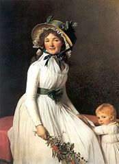 Portrait of Émilie Sériziat and Her Son