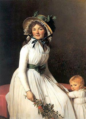 Marguerite Charlotte Pécoul - Image: Madame Seriziat Jacques Louis David 1795