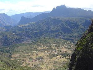 Mafate - Marla, seen from the Col du Taïbit
