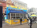 Magic 828 stand, Briggate, Leeds (1st February 2019) 002.jpg