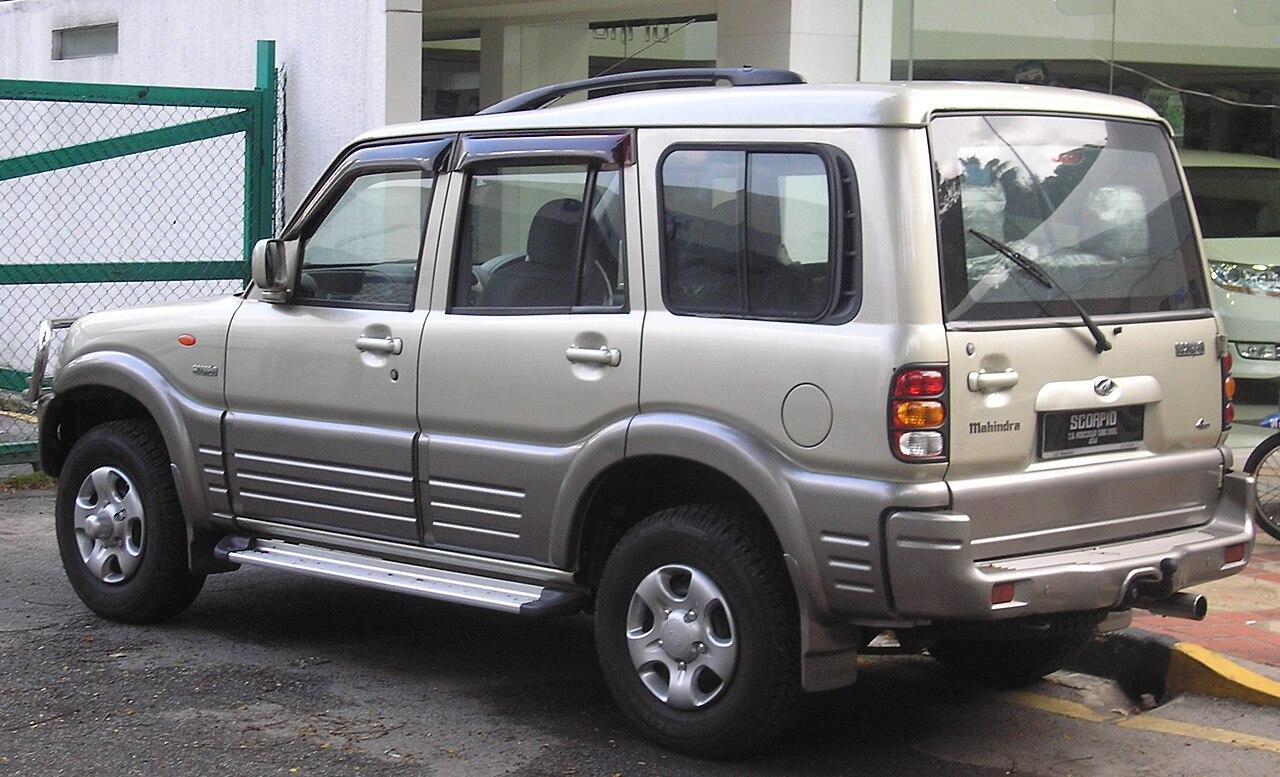 File Mahindra Scorpio First Generation Rear Kuala