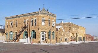 Jetmore, Kansas - West side of Main Street (2010)