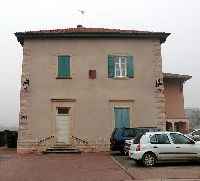 Mairie de Chaneins.