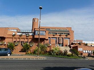 Muret - The modern town hall of Muret