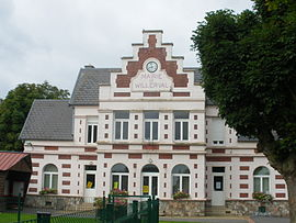 The town hall of Willerval