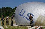 Maj. Nathan McClure, an Air Force Fellow, guides his team of Civil Air Patrol cadets near Chantilly, Virginia.jpg
