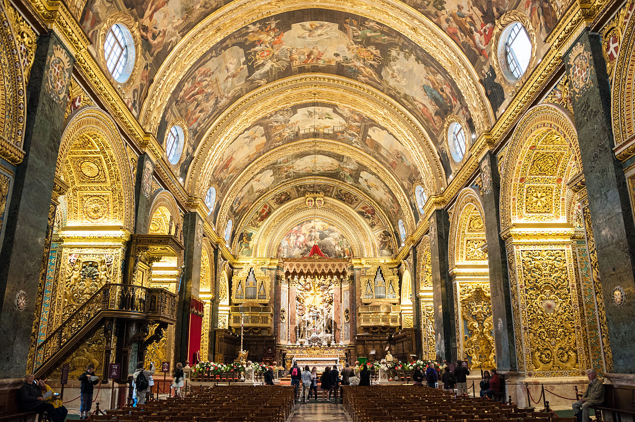 File Malta St John S Pro Cathedral Jpg Wikimedia Commons