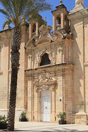 Church of the Flight into Egypt - Image: Malta Floriana Valletta Waterfront Flight into Egypt Church 01 ies