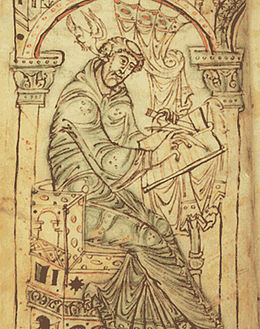 Man writing Corpus Christi College Cambridge MS. 389.jpg
