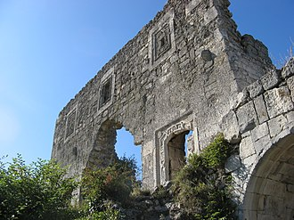 Principality of Theodoro - Mangup fortress donjon