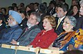 Manmohan Singh and the President of Brazil Mr. Luiz Inacio Lula da Silva watching the IBSA Cultural Programme at Caixa Economic Hall in honour of the visitors, in Brasilia, Brazil, on September 12, 2006.jpg