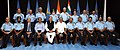 Manohar Parrikar, the Minister of State for Planning (Independent Charge) and Defence, Shri Rao Inderjit Singh, the Defence Secretary, Shri G. Mohan Kumar and the Chief of the Air Staff.jpg