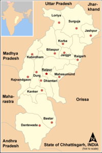 Map Chhattisgarh state and districts.png