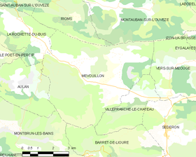 Map commune FR insee code 26181.png