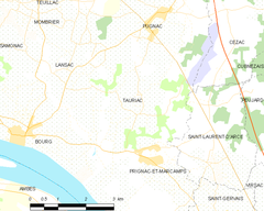 Map commune FR insee code 33525.png