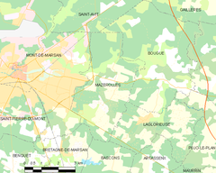 Map commune FR insee code 40178.png