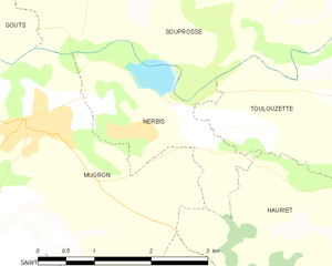 Map commune FR insee code 40204.png