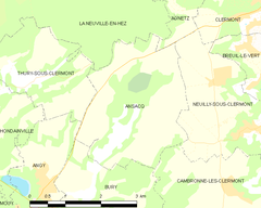 Map commune FR insee code 60016.png