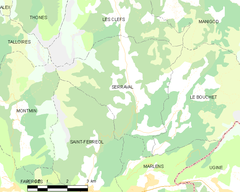Map commune FR insee code 74265.png