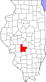 Map of Illinois highlighting Montgomery County.svg