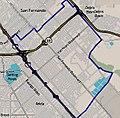 Map of Pacoima neighborhood, Los Angeles, California.jpg