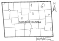 Map of Susquehanna County, Pennsylvania No Text.png