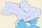 Position of Kiev in Ukraine
