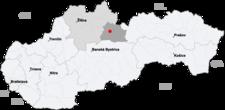 Liptovský Mikuláš na mapě