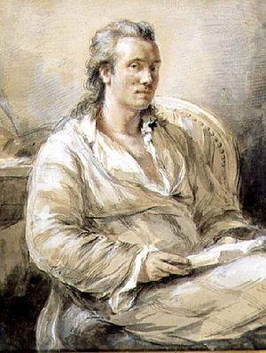 Marc-Théodore Bourrit - Self portrait
