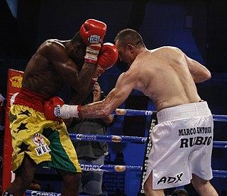 Marco Antonio Rubio Mexican boxer