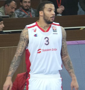 Marcus Williams (basketball, born 1985) - Williams with Crvena zvezda in November 2014.