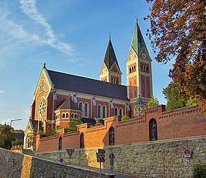 Cham, Germany - Church in Cham