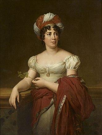 """Germaine de Staël - """"Madame de Staël"""" by Marie-Éléonore Godefroid (1813)"""