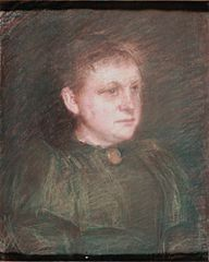 Portrait of Marie Tannæs