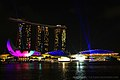 Marina Bay Sands, Singapore, at night - 20140215-02.jpg