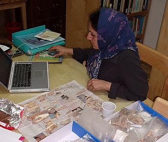 Marjan Mashkour - Marjan Mashkour, June 2005