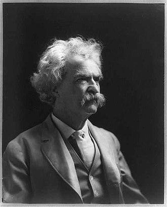 American literature - Mark Twain, 1907