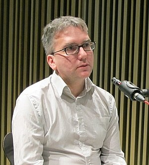 Mark Fisher (theorist) - Fisher at the Barcelona Museum of Contemporary Art in 2011
