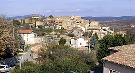A general view of Martignargues