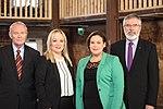 Martin McGuinness, Michelle O'Neill, Mary Lou McDonald and Gerry Adams.jpg