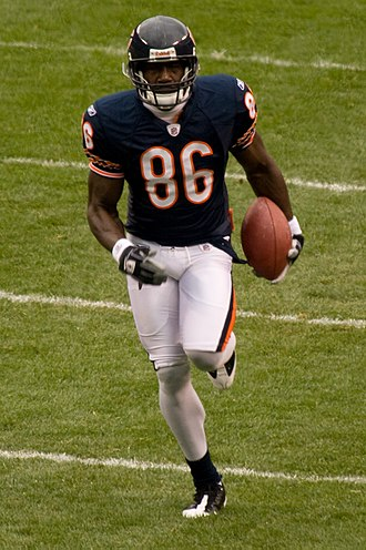 Marty Booker - Booker during his second tenure with the Bears.