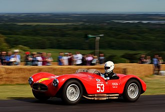 Rosso corsa - Image: Maserati A6GCS at Goodwood 2014 001