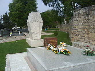 Mate Boban - The grave of Mate Boban in Gorica.