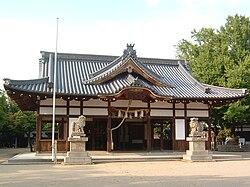 松原八幡神社 拝殿