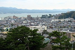 City view from Matsue Castle