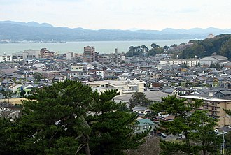 Matsue - City view from Matsue Castle